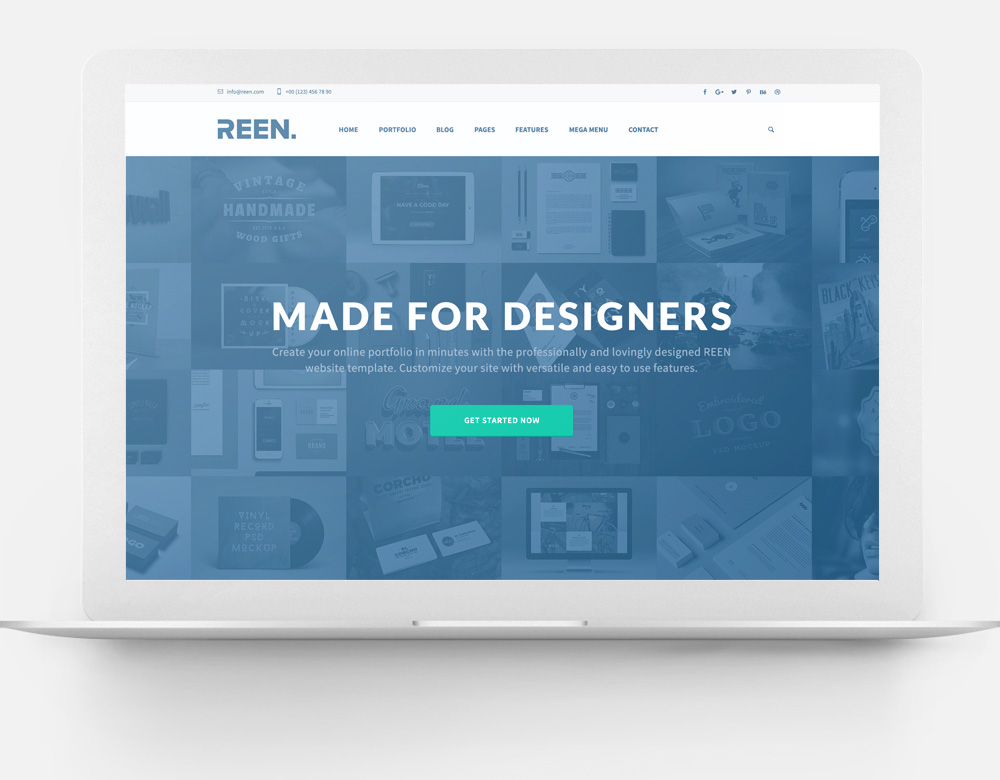 Made for Designers Bootstrap Template